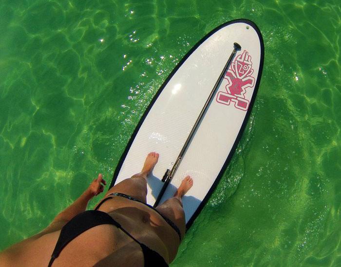 hampton inn Coastal Paddle Company Pensacola Beach Florida stand up paddleboarding pensacola beach