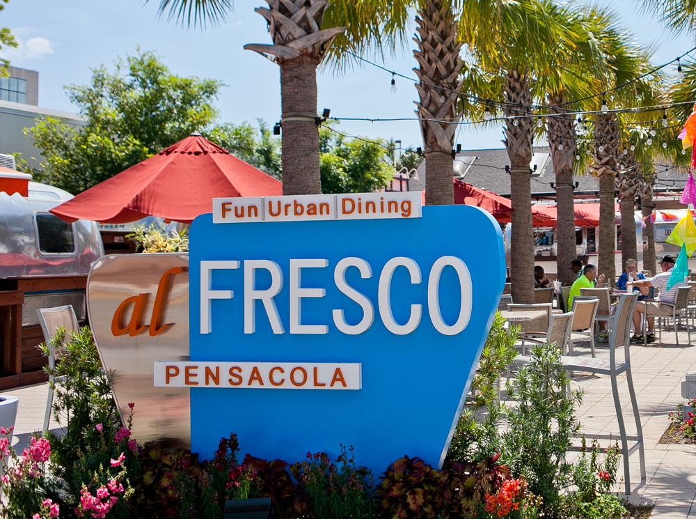 Hampton Inn Pensacola Beach FL Al Fresco Downtown