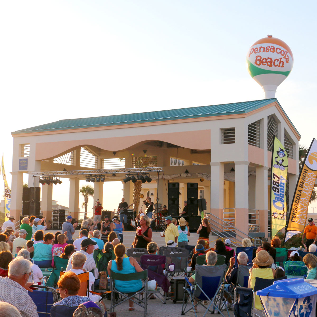 Bands on the Beach Pensacola Beach FL