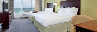 hampton inn pensacola beach florida hotel room