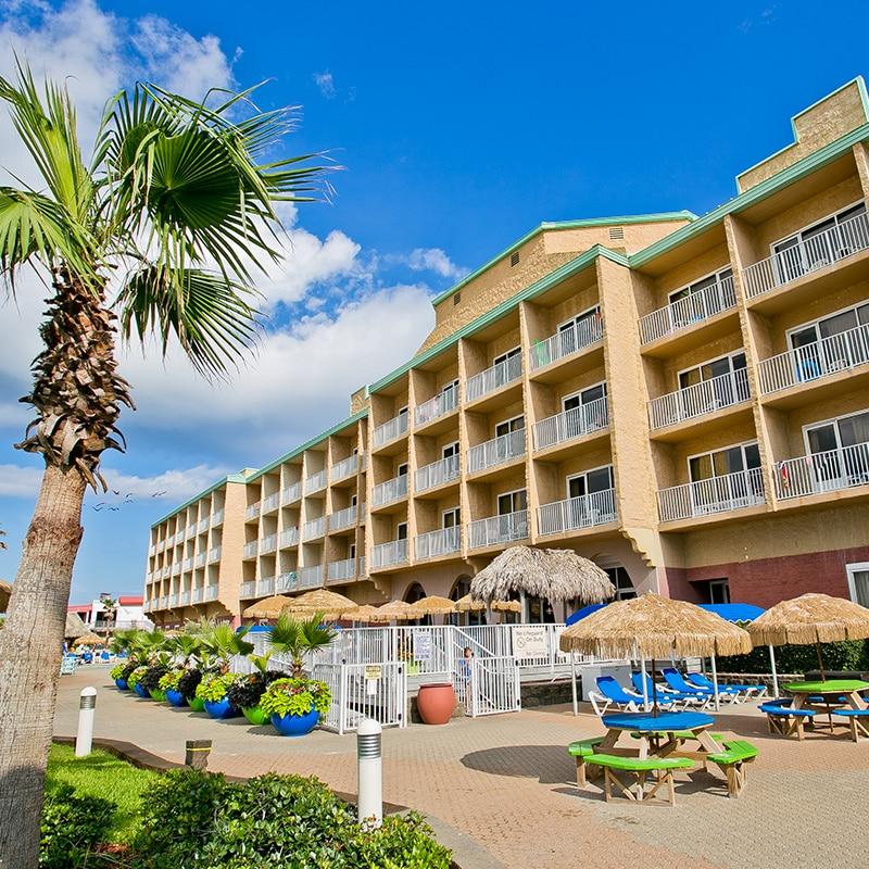 Hampton Inn Pensacola Beach | Pensacola Beach Hotel Beachfront Property.  Hampton ...